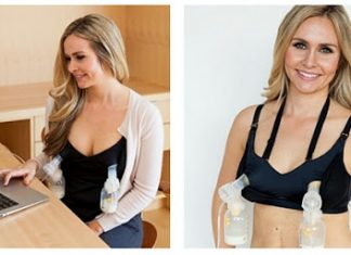 Spectra Breast Pump Bra